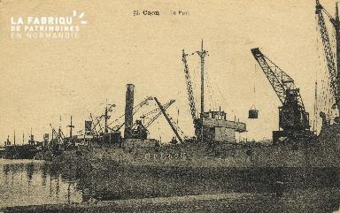 Cl 07 174 Caen - Le port