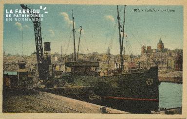 Cl 07 176 Caen - Les Quais