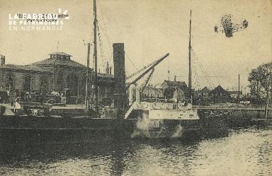 Cl 07 177 Caen - Aviation sur les Docks