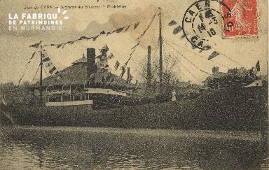 Cl 07 179 Port de Caen - Baptème du Staenmer Madeleine