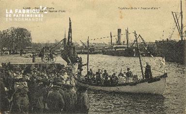 Cl 07 181 Caen - Petit St-Marie- La fète de Jeanne d'Arc