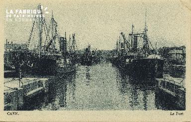 Cl 07 184 Caen - Le port