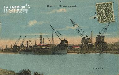 Cl 07 185 Caen - Nouveau bassin