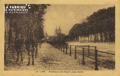 Cl 07 204 Caen - Promenade des Fossés St-Julien