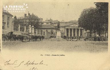 Cl 07 206 Caen - Palais de justice