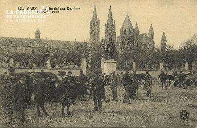 Cl 07 209 Caen - Le Marché aux Bestiaux place du Parc