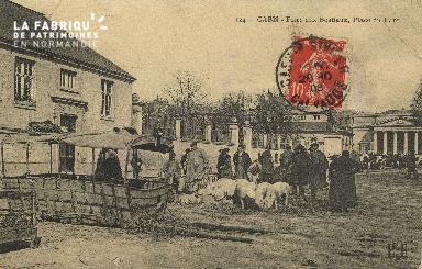 Cl 07 211 Caen - Foire aux Bestiaux, place du Parc