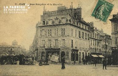 Cl 07 213 Caen - Rue Ecuyère et le Marché