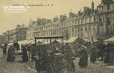 Cl 07 216 Caen - Marché St-Sauveur