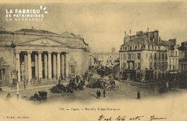 Cl 07 217 Caen - Marché St-Sauveur