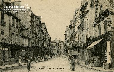 Cl 08 010 Caen rue du Vaugueux