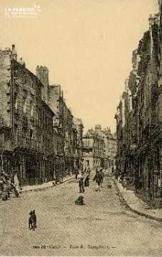 Cl 08 014 Caen rue du Vaugueux