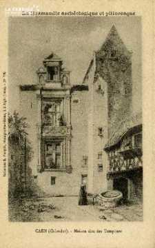 Cl 08 015 Caen Maison dite des Templiers