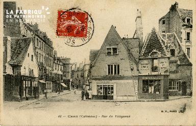 Cl 08 017 Caen rue du Vaugueux