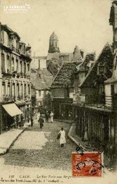 Cl 08 019 Caen rue Porte-au-Berger