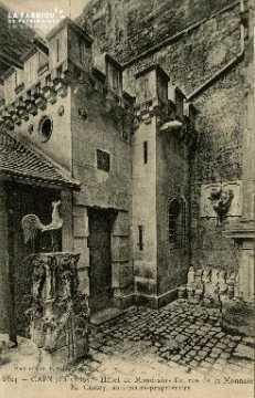 Cl 08 027 Caen Hôtel de Mondrainville rue de la Monnaie M. Castey anti