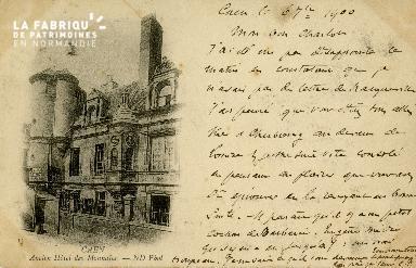 Cl 08 031 Caen ancien Hôtel des Monnaies