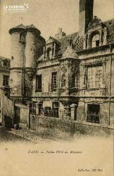 Cl 08 034 Caen ancien Hôtel des Monnaies