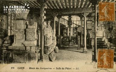 Cl 08 058 Caen Musée des Antiquaires Salle du Pilori
