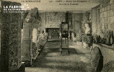Cl 08 059 Caen Musée des Antiquaires Salle de la Cheminée