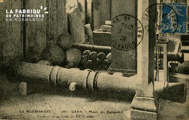 Cl 08 060Cl 08 059 Caen Musée des Antiquaires Couleuvrine en Fonte du