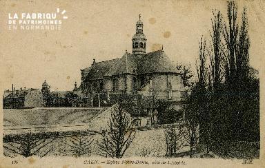 Cl 08 064 Caen Eglise Notre Dame côté de l'Abside