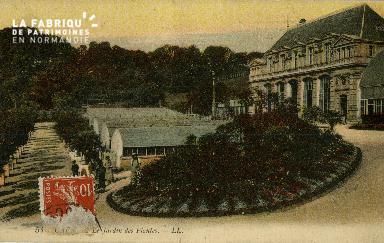 Cl 08 069 Caen le Jardin des Plantes