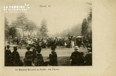 Cl 08 071 Caen la musique Militaire au Jardin des Plantes
