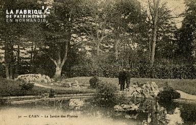 Cl 08 075 Caen le Jardin des Plantes