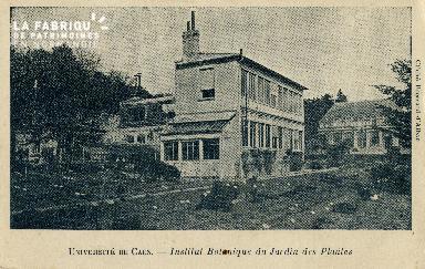 Cl 08 090 Caen le Jardin des Plantes Déposant : institut Botanique