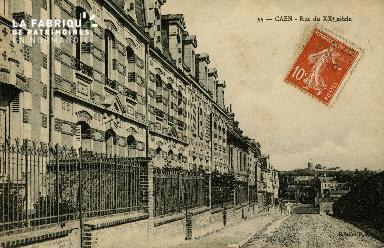 Cl 08 101 Caen rue du XXè s.