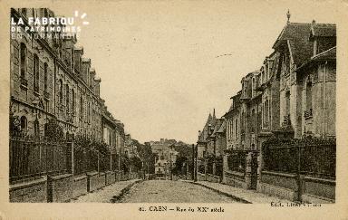 Cl 08 102 Caen rue du XXè s.