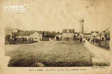 Cl 08 103 Caen le Moulin au Roy et le Château d'Eau