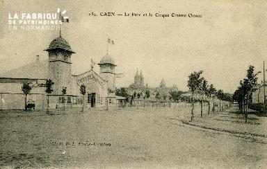Cl 08 110 Caen le Parc et le Cirque Cinéma Omnia