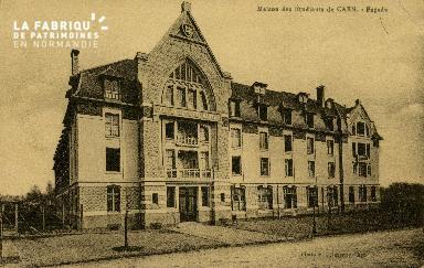 Cl 08 121 Caen la Maison des Etudiants Façade