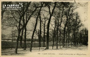 Cl 08 128 Caen Cours Sadi-Carnot et l'Hippodrome