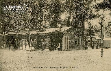 Cl 08 130 Caen Terrasse du Café Restaurant du Châlet