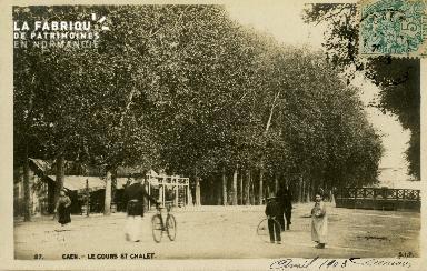Cl 08 132 Caen Cours Sadi-Carnot et Châlet