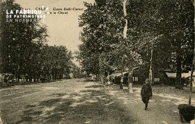 Cl 08 133 Caen Cours Sadi-Carnot vers le Châlet