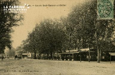 Cl 08 136 Caen Cours Sadi-Carnot et Châlet