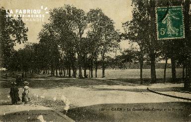 Cl 08 138 Caen Cours Sadi-Carnot et la Prairie