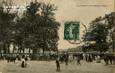 Cl 08 141 Caen le Cours Sadi-Carnot et la Revue