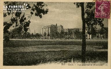 Cl 08 143 Caen vue générale de Beauséjour