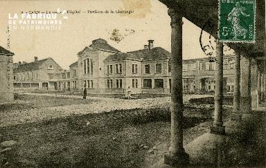 Cl 08 151 Caen le nouvel Hôpital Pavillon de la Chirurgie