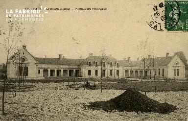 Cl 08 152 Caen le nouvel Hôpital Pavillon des contagieux