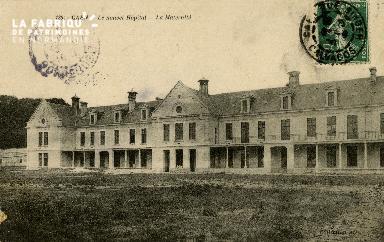 Cl 08 153 Caen le nouvel Hôpital la Maternité