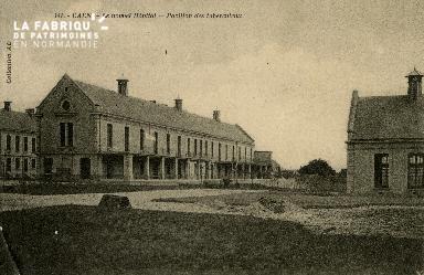 Cl 08 154 Caen le nouvel Hôpital Pavillon des tuberculeux