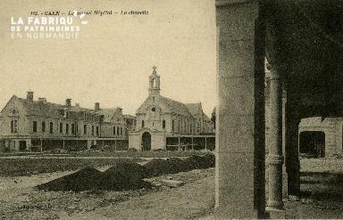 Cl 08 155 Caen le nouvel Hôpital la Chapelle
