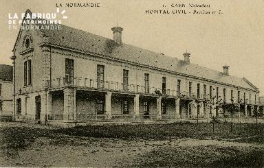 Cl 08 158 Caen Hôpital Civil Pavillon n°5