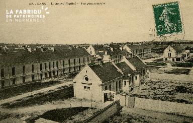 Cl 08 159 Caen le nouvel Hôpital Vue Panoramique